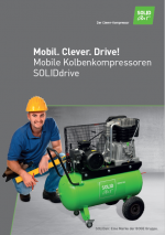 Mobile Kolbenkompressoren SOLIDdrive